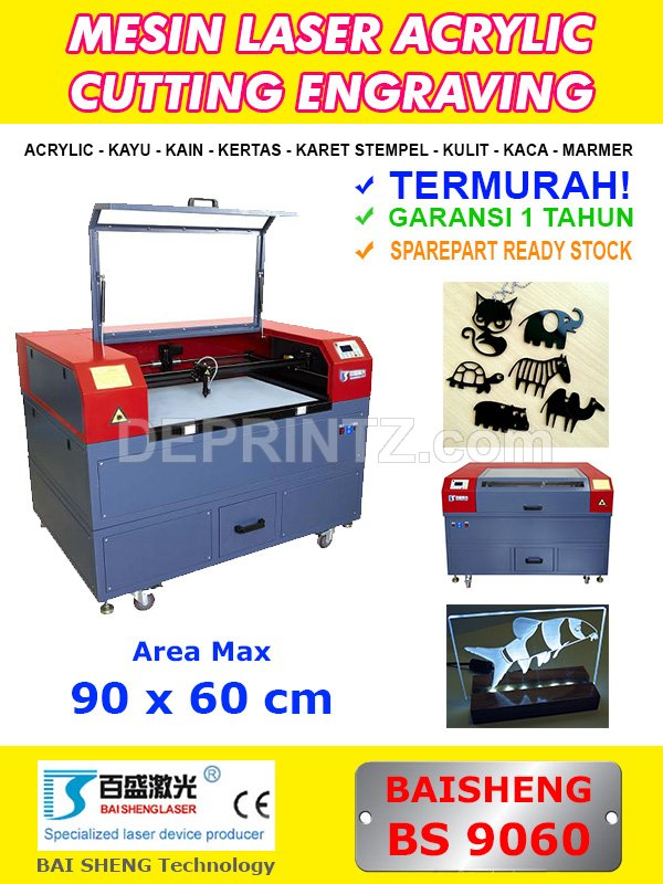 Mesin Laser Cutting AS 9060