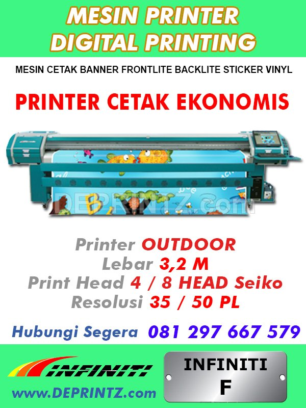 Mesin Digital Printing F 35
