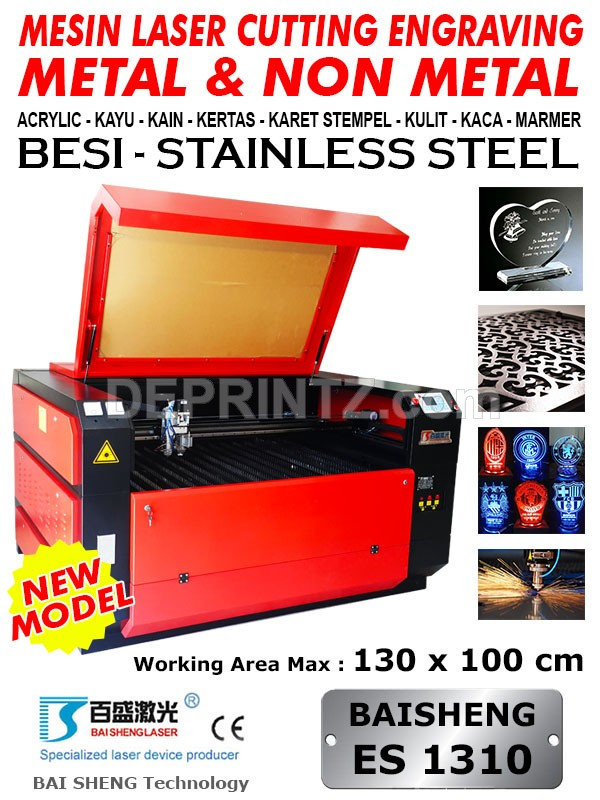 Mesin Laser Cutting Metal ES 1310