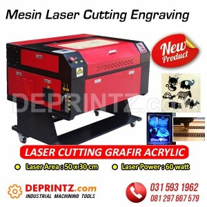 Mesin LASER CUTTING GRAFIR Acrylic 5030