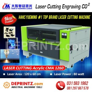 Mesin LASER CUTTING HANS Yueming CMA 1260