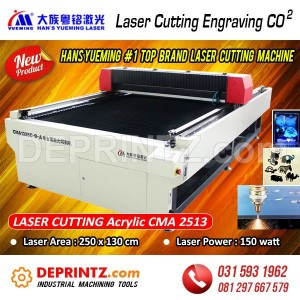 Mesin LASER CUTTING HANS Yueming CMA 1325