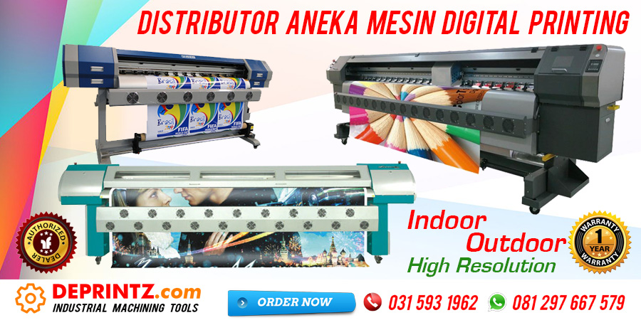 Jual Mesin Printer Digital Printing Indoor Outdoor Murah
