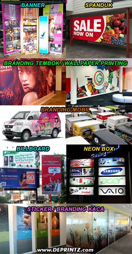 Hasil Produksi Mesin Digital Printing