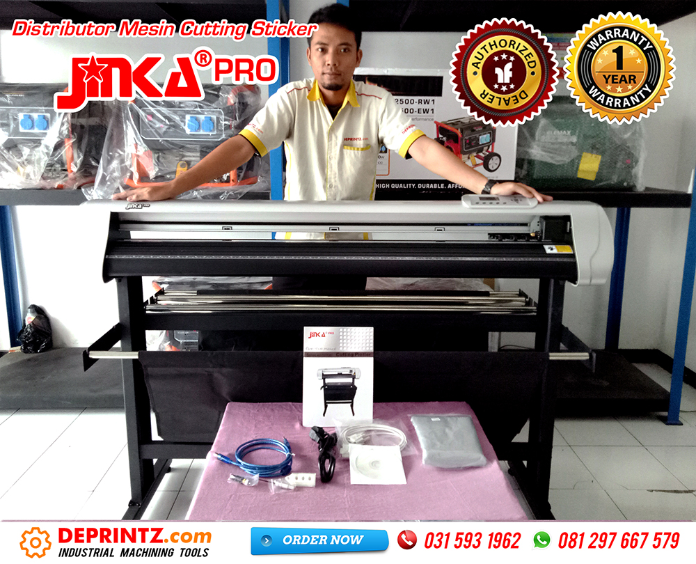 Kelengkapan Mesin Cutting Sticker JINKA PRO 1351