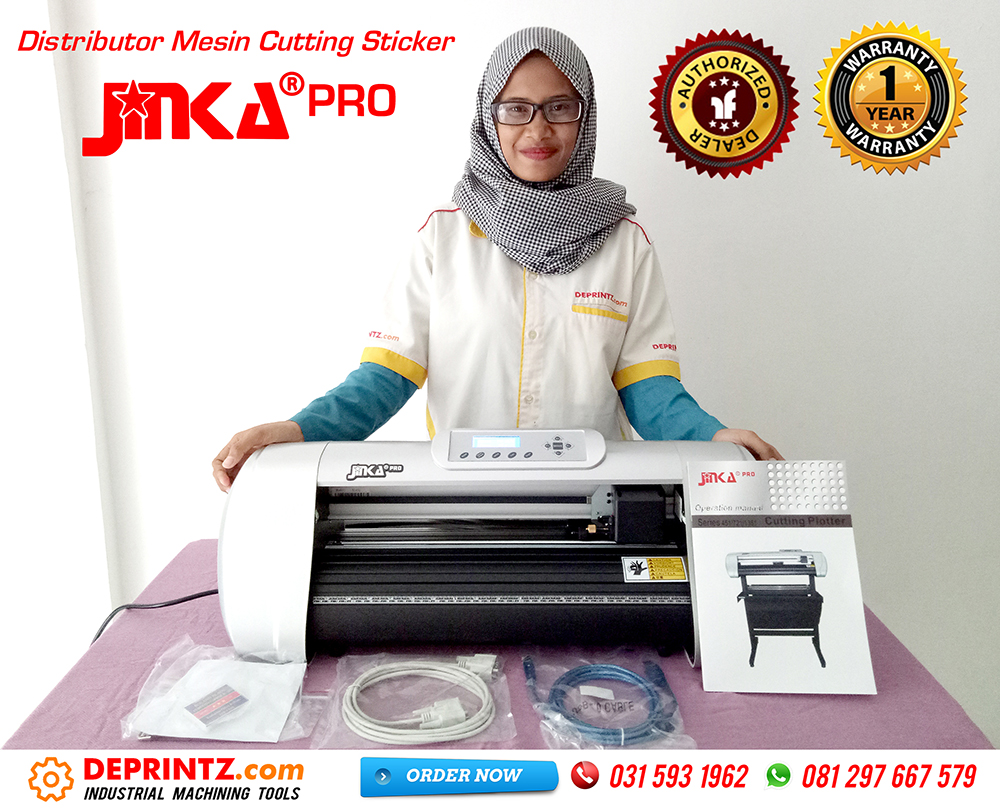 Kelengkapan Mesin Cutting Sticker JINKA PRO 451