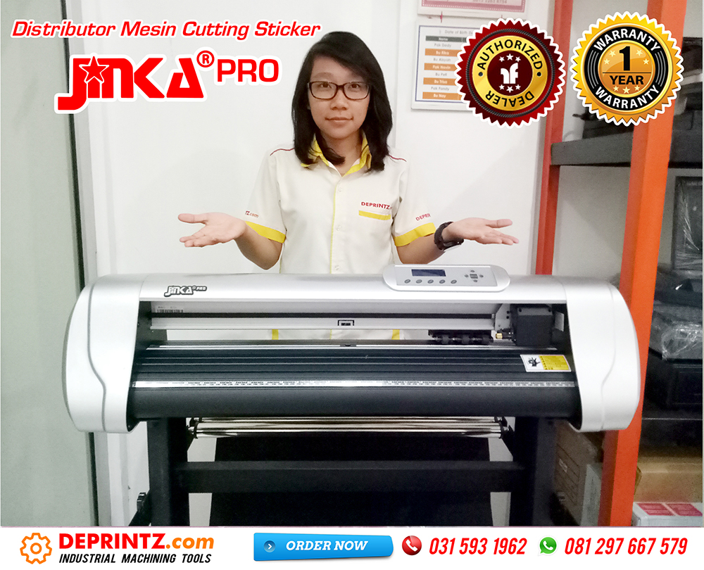 Kelengkapan Mesin Cutting Sticker JINKA PRO 721