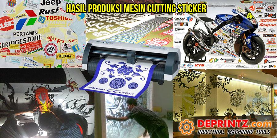 Contoh Hasil Produksi Mesin Cutting Sticker