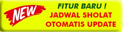 JUAL JAM JADWAL SHOLAT DIGITAL