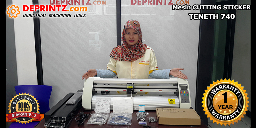 Kelengkapan Mesin Cutting Sticker TENETH TH 740