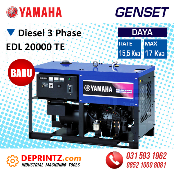 Harga Genset Diesel 3 Phase 17 KVA