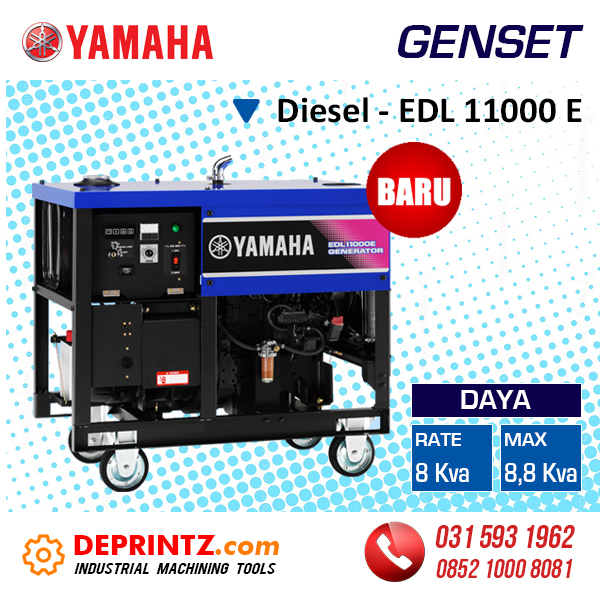 Harga Genset Diesel 8000 Watt