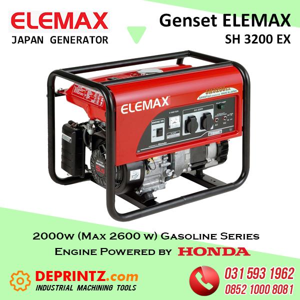 GENSET JEPANG ELEMAX SH 3200 EX - 2Kva HARGA MURAH