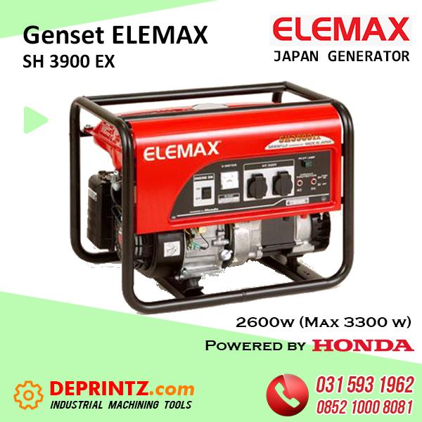GENSET JEPANG ELEMAX SH 3900 EX - 3Kva HARGA MURAH