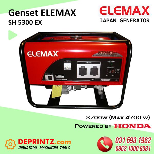 GENSET JEPANG ELEMAX SH 5300 EX - 4000Watt HARGA MURAH