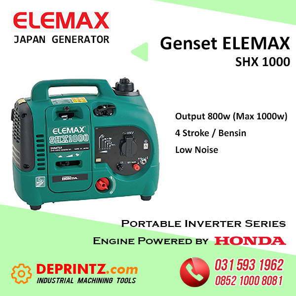 GENSET INVERTER ELEMAX SHX 1000 - 1000 Watt