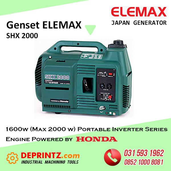 GENSET INVERTER ELEMAX SHX 2000 - 2Kva