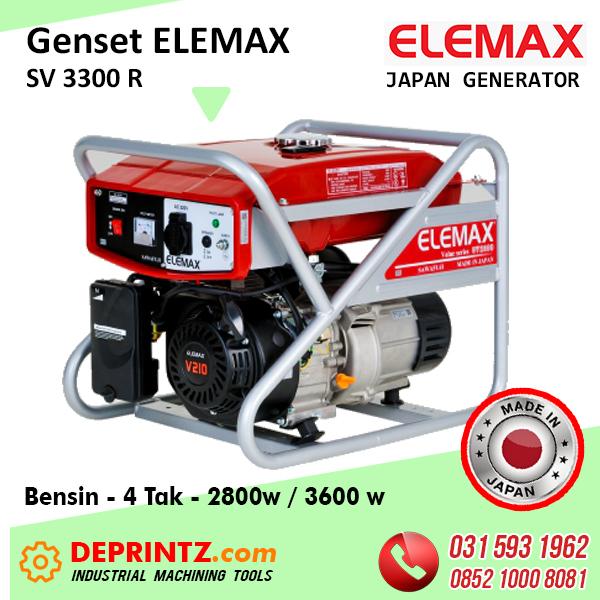 TOKO GENSET JEPANG ELEMAX SV 3300 R 3000 Watt