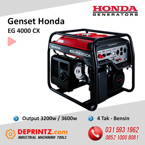 JUAL GENSET HONDA EG 4000 CX 3KVA