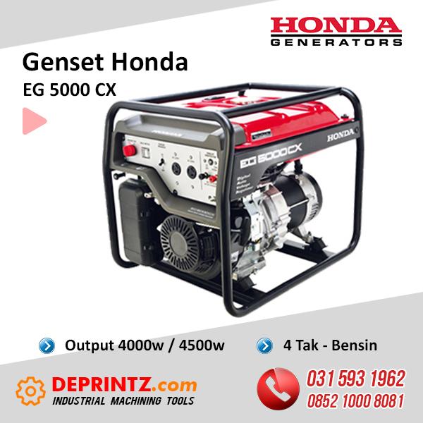 JUAL GENSET HONDA EG 5000 CX 4KVA