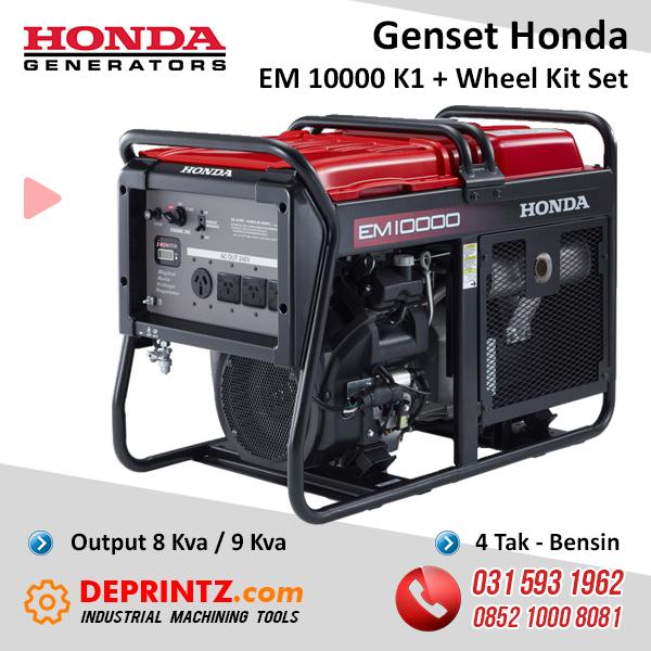 JUAL GENSET HONDA EM 10000 K1 8KVA