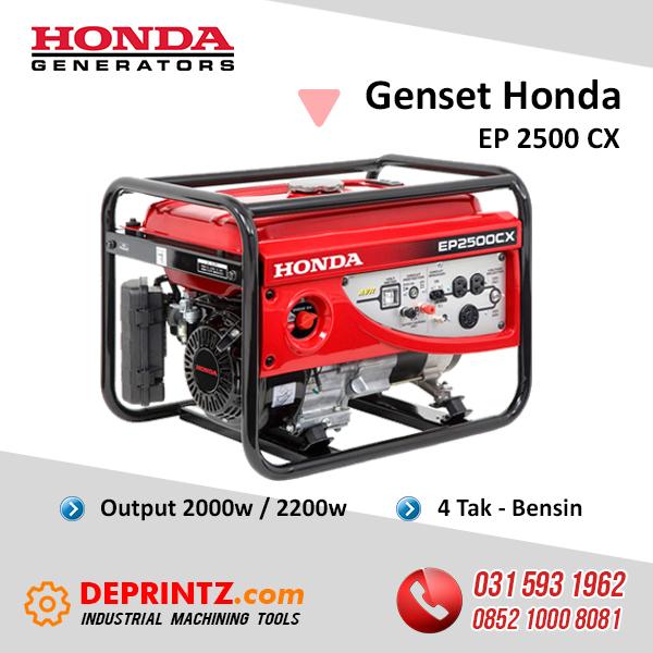 JUAL GENSET HONDA EP 2500 CX 1KVA