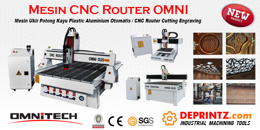 Distributor Mesin CNC Indonesia
