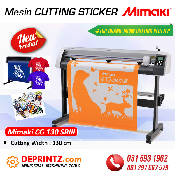 Harga Mesin Cutting Sticker MIMAKI CG130 SRIII
