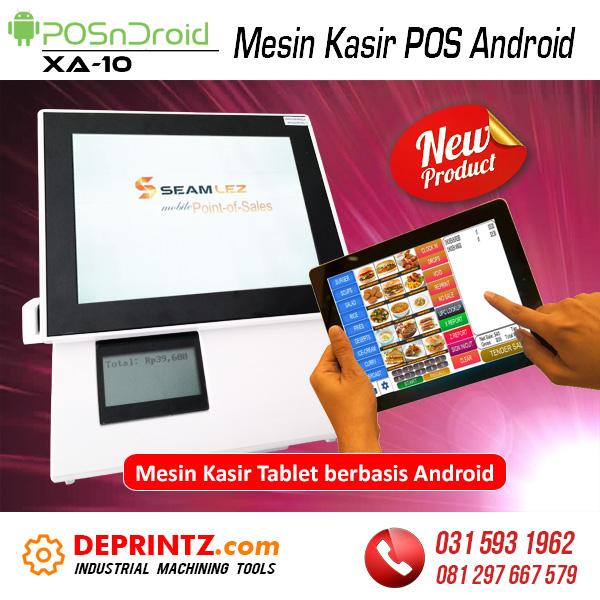 Harga Mesin Kasir POS Android Toko Supermarket