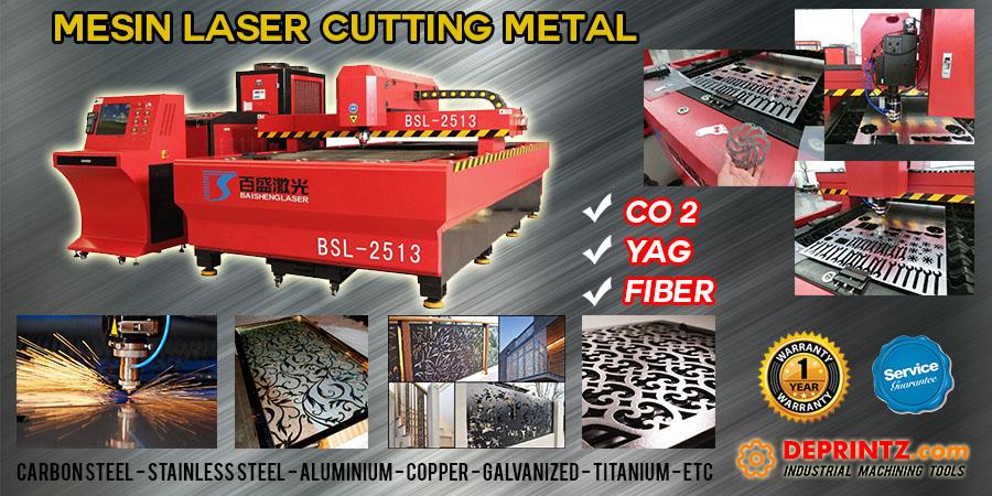 Jual Mesin Laser Cutting Besi