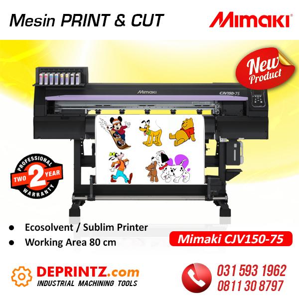 Jual Mesin PRINT and CUT MIMAKI Murah