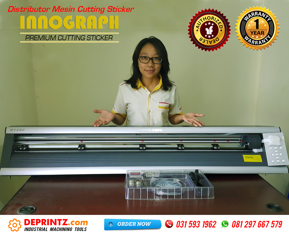 Kelengkapan Mesin Cutting Sticker INNOGRAPH R1350