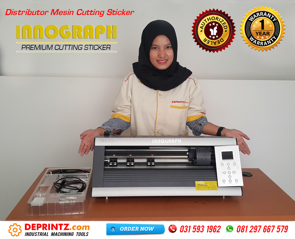 Kelengkapan Mesin Cutting Sticker INNOGRAPH R500