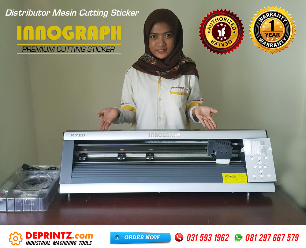 Kelengkapan Mesin Cutting Sticker INNOGRAPH R720