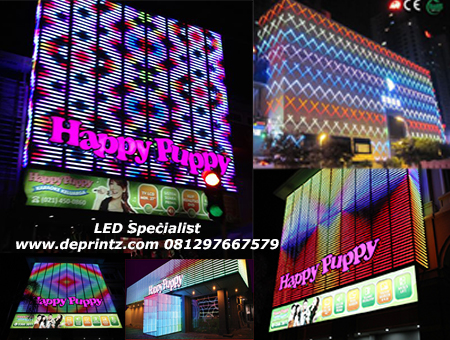 LED Display Contoh