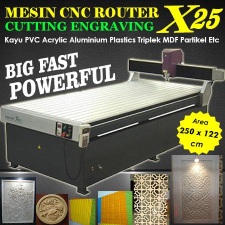 Jual Mesin CNC Router Murah Kingcut X25