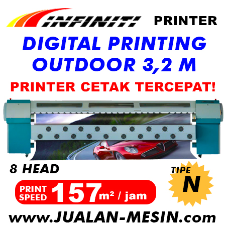 JUAL MESIN DIGITAL PRINTING OUTDOOR MURAH