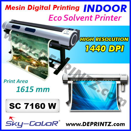 Jual Mesin Digital Printing INDOOR