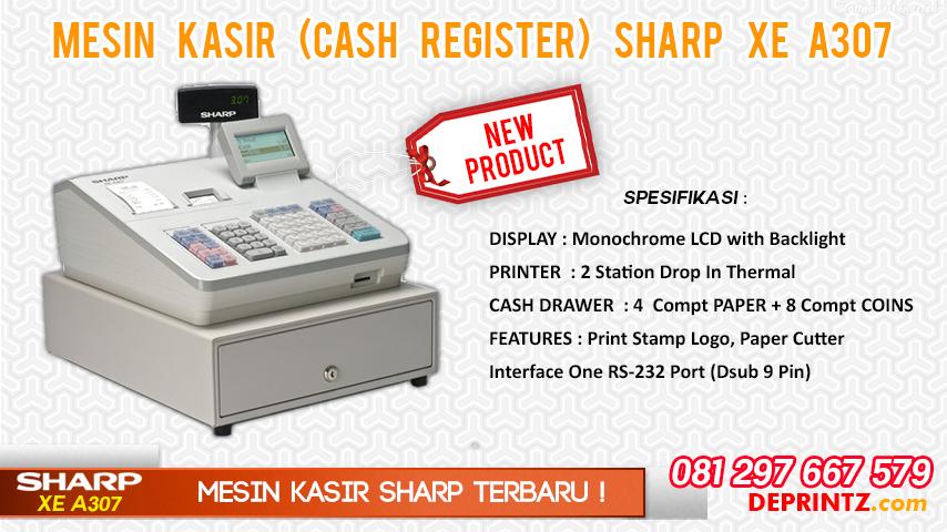 Harga Mesin Kasir SHARP XE A307
