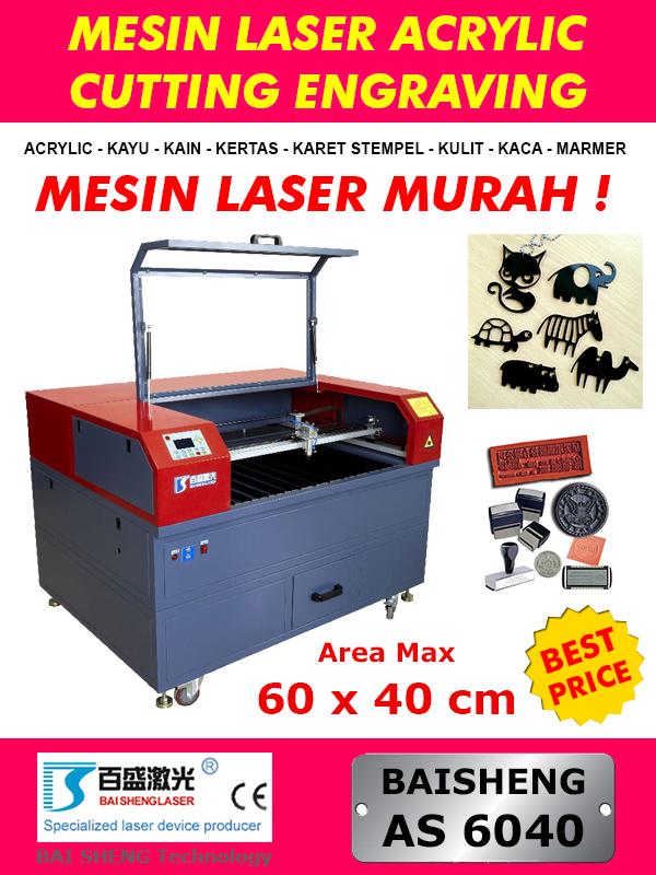 Jual Mesin Laser Potong Akrilik