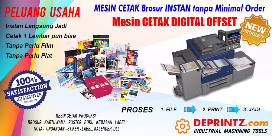 Mesin Percetakan Digital Printing Offset