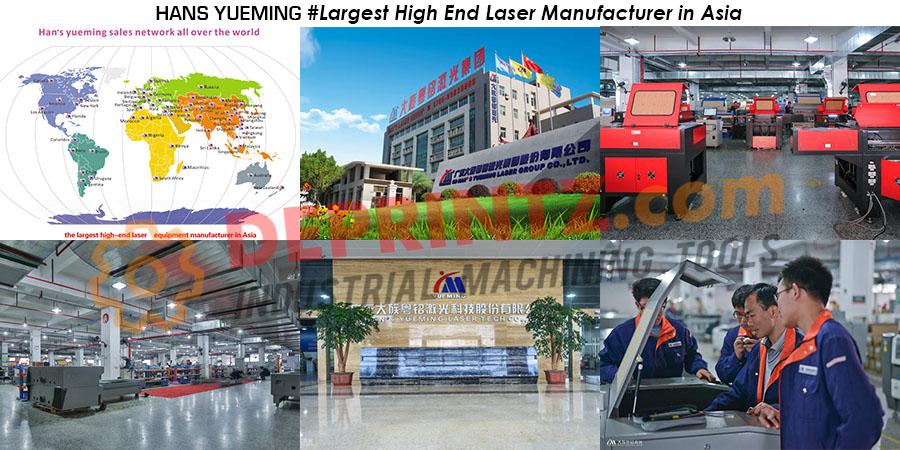 Pabrik Mesin Laser Cutting Terbesar di Asia