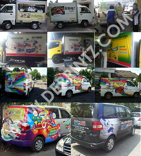 Branding Mobil Promosi DEPRINTZ
