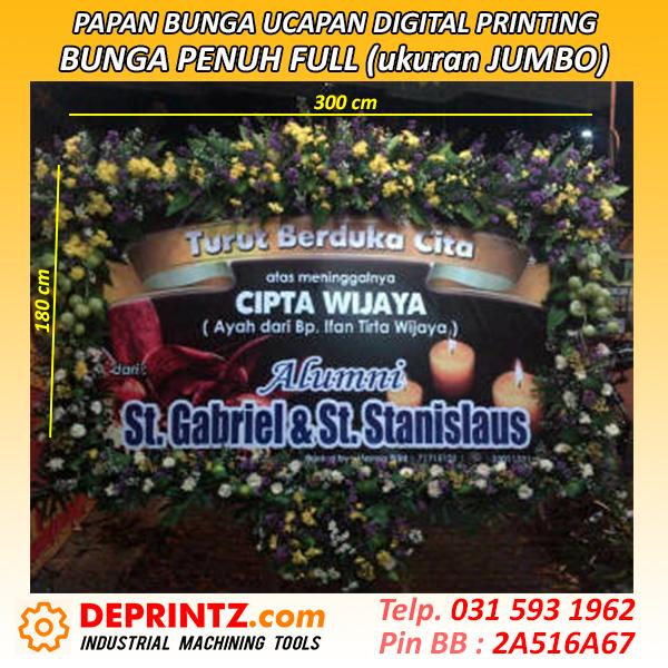 Papan Karangan Bunga Ucapan Murah Surabaya