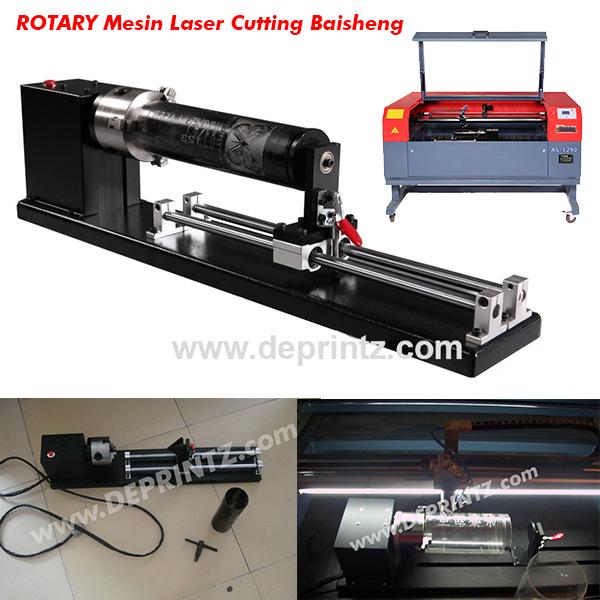 Rotary Mesin Laser Cutting Acrylic Baisheng
