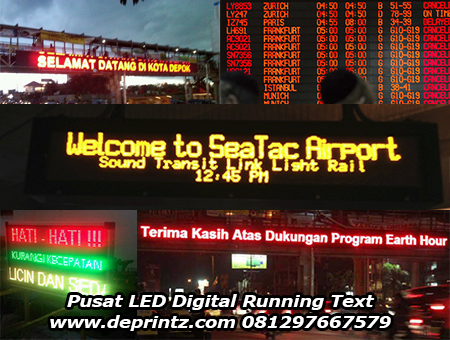 Running Text Contoh 2