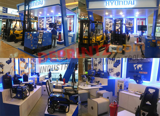 FOTO SHOWROOM HYUNDAI POWER PRODUCT