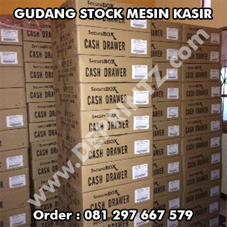 Gudang Stock Mesin Kasir Cash Register Cash Drawer