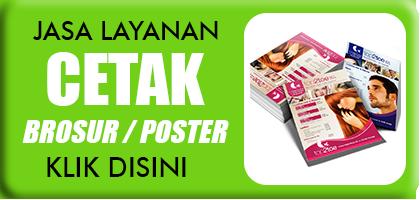 Percetakan Brosur Flyer Poster Murah