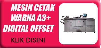 Jual Mesin Cetak Warna A3+ Digital Printing Offset